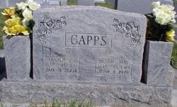 Bessie May <i>Hobbs</i> Capps