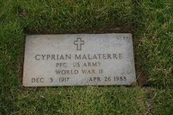 PFC Cyprian Malaterre
