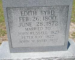 Edith <i>Russell</i> Byrd