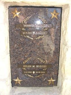Helen Marie <i>Plyler</i> Hodges