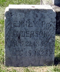 Emily P <i>Beckwith</i> Anderson