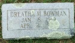 Dreatha M. Bowman