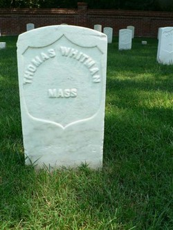 Pvt Thomas Whitman