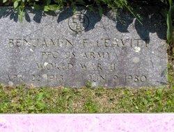 Benjamin F Leavitt