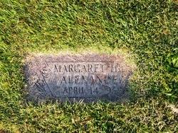 Margaret <i>Hill</i> Alexander
