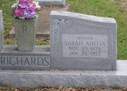 Sarah Adelia Richards