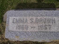 Emma Louise <i>Schoenleber</i> Brown