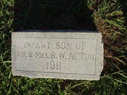 Infant Son Acton