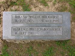 Florence Preston Bockhorst