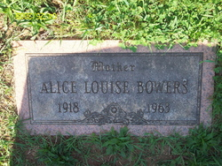 Alice Louise Bowers