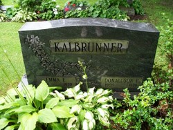 Emma E <i>Ward</i> Kalbrunner