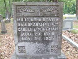 Milly Anna Statia Wideham