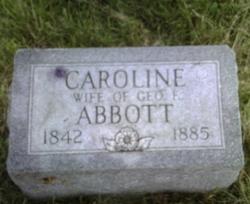 Mary Caroline <i>Morgan</i> Abbott