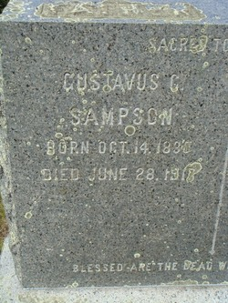 Gustavus C Sampson