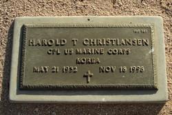 Harold T Christiansen