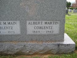 Albert Martin Coblentz
