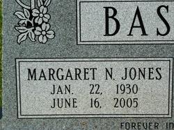 Margaret Nell <i>Jones</i> Basham