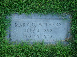 Mary Charlotte <i>Scribner</i> Withers