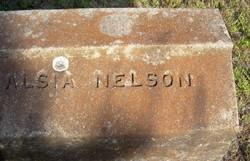Alsia Ann Alsy <i>Thompson</i> Nelson