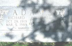 Bertie J Adams