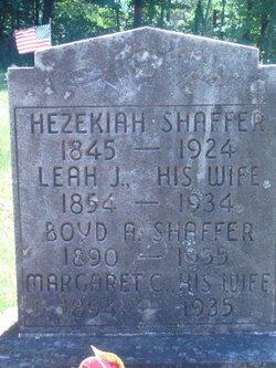 Margaret C Shaffer
