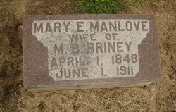 Mary E. <i>Manlove</i> Briney