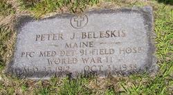 PFC Peter J. Beleskis