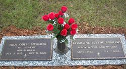 Charline <i>Blythe</i> Bowling