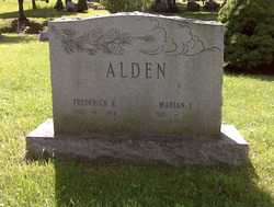 Frederick Robert Fred Alden