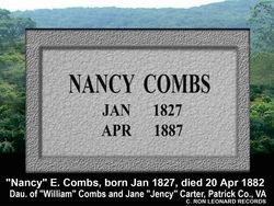 Nancy E <i>Combs</i> Allen