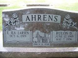 Eila <i>Larsen</i> Ahrens