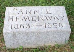 Ann Elizabeth Hemenway