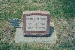 Ruth A <i>Ringle</i> Blount