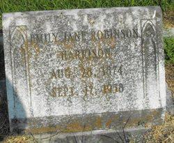 Emily Jane <i>Robinson</i> Harrison