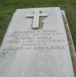Harriet Biddle