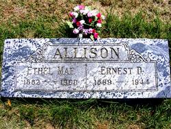 Ethel Mae <i>Hill</i> Allison