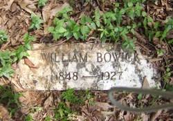 William Bowick
