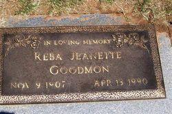 Reba Jeanette Goodmon
