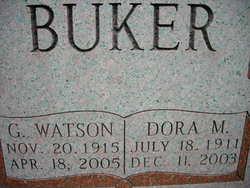 Dora M <i>Barnes</i> Buker