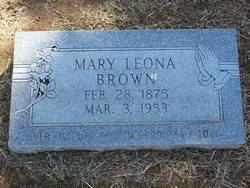 Mary Chalonis Leona <i>Permenter</i> Brown