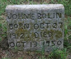 Johnie Bolin
