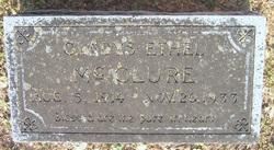 Gladys Ethel McClure