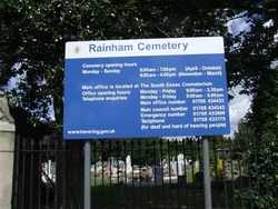 Rainham Cemetery