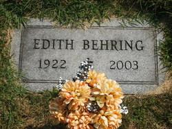 Edith K. <i>Fulcher</i> Behring