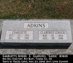 Charlotte <i>Maxwell</i> Adkins