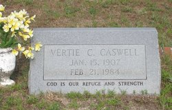 Vertie Curl <i>Johnson</i> Caswell