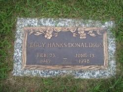 Peggy Jean <i>Hanks</i> Donaldson