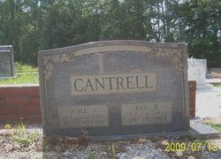 Quillian Arthur Quill Cantrell