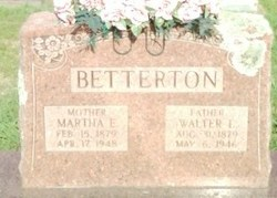 Martha Elizabeth <i>Bivens</i> Betterton