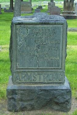 Minnie L <i>Talkington</i> Armstrong
